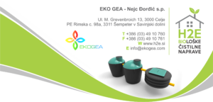 H2E | Biološke čistilne naprave